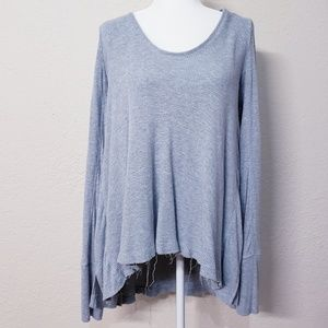 We the Free waffle knit thermal Ventura top Lg